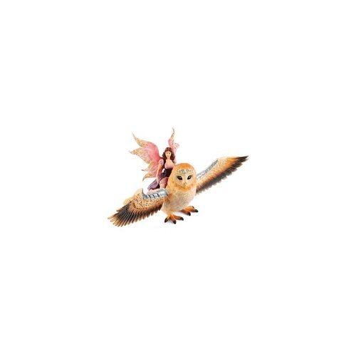 Schleich Elfe auf Glitzer-Eule, Spielfigur