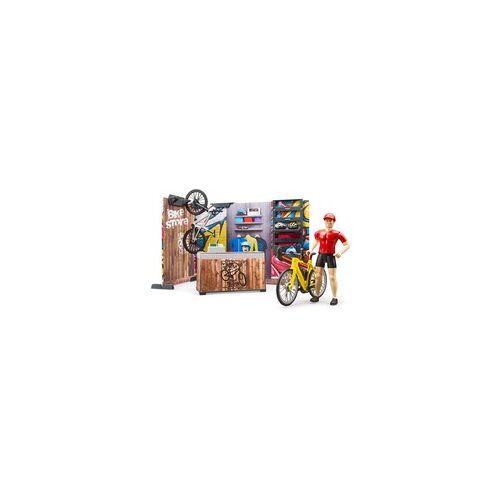 Bruder bworld Fahrradshop und Werkstatt, Spielfigur