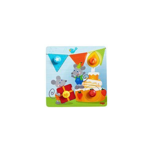 HABA Greifpuzzle Geburtstagsmäuse