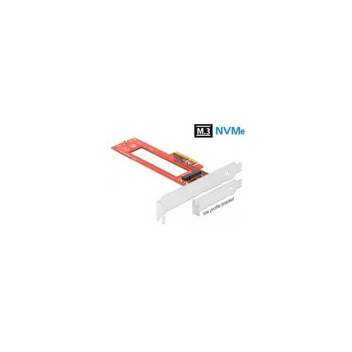Delock PCIe x4 1xM.3/NF1 Slot LP, Controller