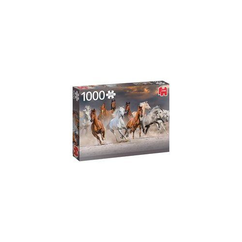 Jumbo Puzzle Pferde in der Wüste