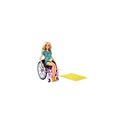 Mattel Barbie Fashionistas Barbie Puppe (blond) mit Rollstuhl