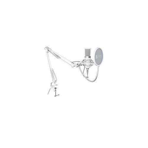 SPC Gear SM950 Onyx White, Mikrofon
