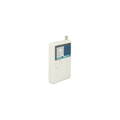 Delock Kabeltester RJ45 / RJ12 / BNC / USB