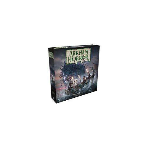 Asmodee Arkham Horror: 3. Edition - Dunkle Fluten, Brettspiel