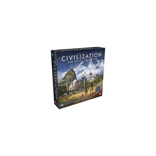 Asmodee Civilization: Ein neues Zeitalter - Terra Incognita, Brettspiel