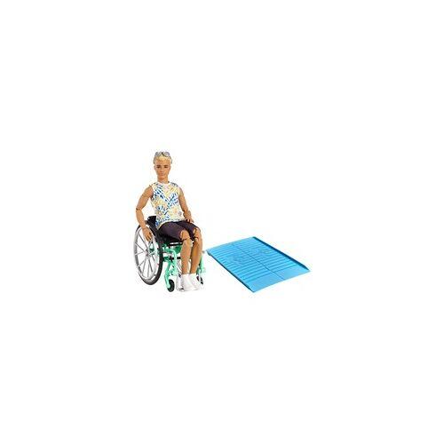 Mattel Barbie Fashionistas Ken Puppe (blond) mit Rollstuhl