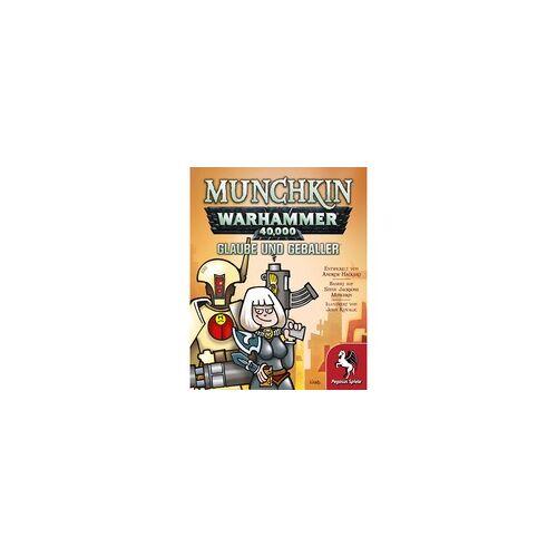 Pegasus Munchkin - Warhammer 40.000 - Glaube und Geballer, Kartenspiel