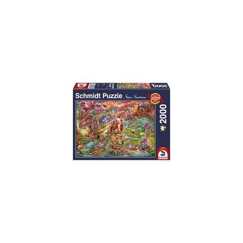Schmidt Spiele Puzzle Der Schatz der Drachen