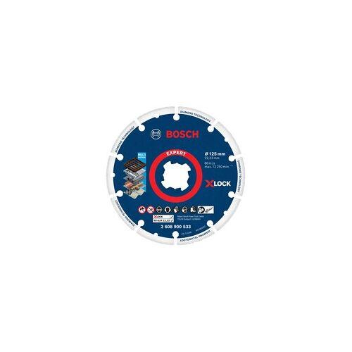 Bosch X-LOCK Diamant-Metallscheibe 125mm, Trennscheibe
