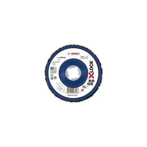 Bosch X-LOCK Grobreinigungsscheibe, N377 Metall, 125mm, Schleifscheibe