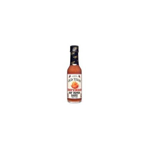 Old Texas Inferno Hot Pepper Sauce