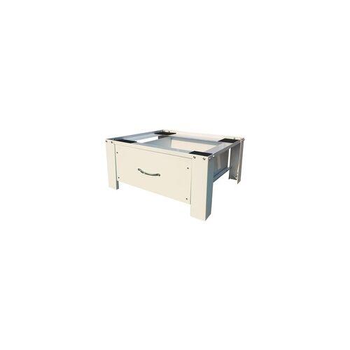 Respekta Waschmaschinen-Erhöhung mit Schublade WUGmitSchublade, Untergestell