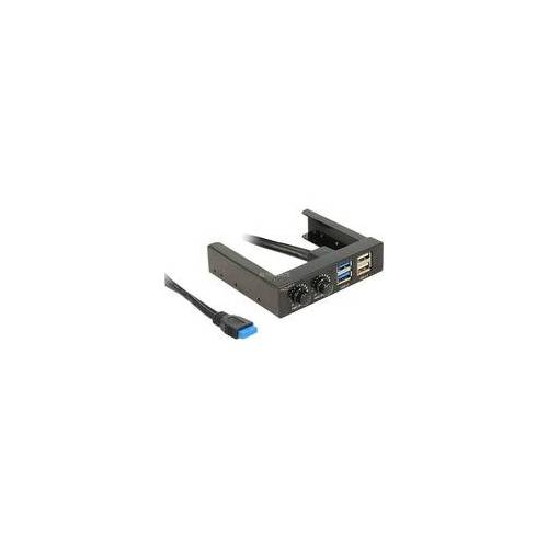 "Delock 3,5"" Front Panel 2x USB 3.0 + 2x USB 2.0, Frontpanel"