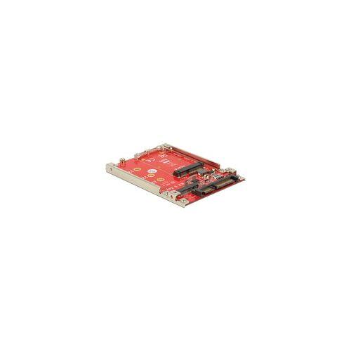 """Delock 2.5"""" Konverter SATA 22 Pin  M.2 / mSATA"""