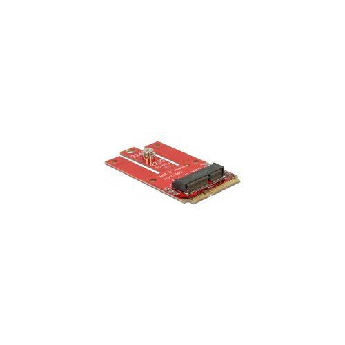 Delock Adapter Mini PCIe M.2 Key E Slot