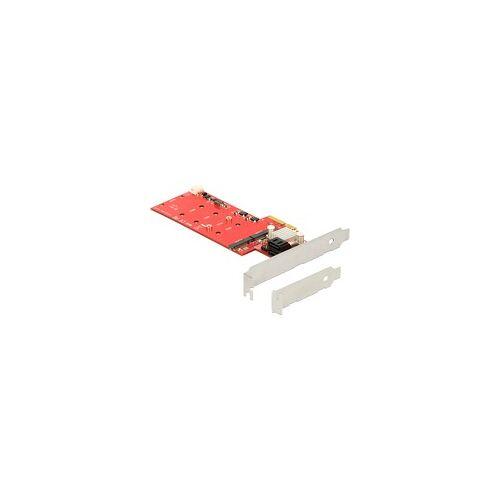 Delock PCIe 2x M.2 NGFF + 2x SATA Raid, Controller