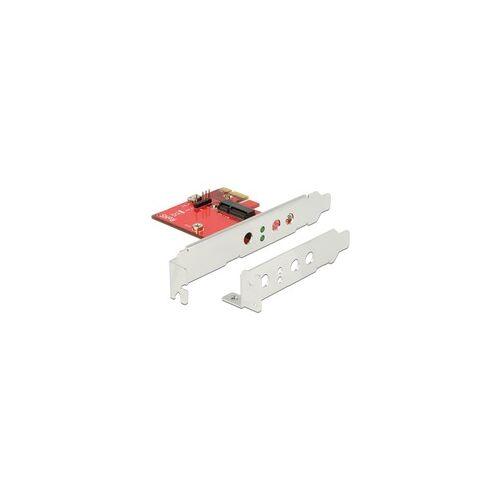 Delock PCIe Karte  1x intern M.2 E Low Profile, WLAN-Adapter
