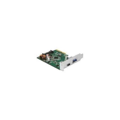 Delock PCIe 1x USB C + 1x USB A, USB-Controller