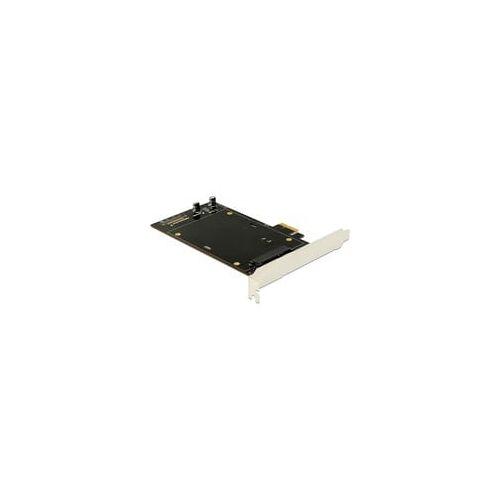 Delock PCIe x1 Karte für 2x SATA HDD/SSD, Controller