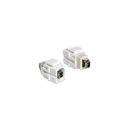 Delock Keystone Modul FireWire 4 Pin  FireWire 4 Pin, Keystone-Modul