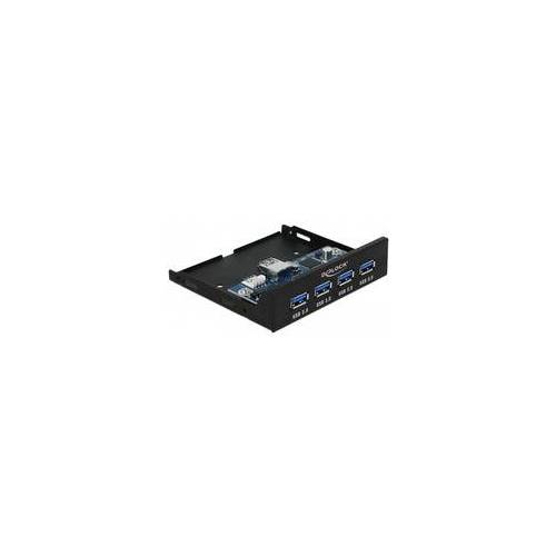 Delock Interner 3.5″ USB 3.0 Hub 4 Port, Frontpanel