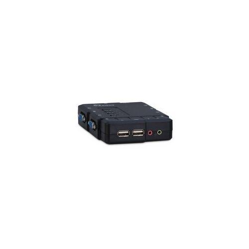Inter-Tech IPC KVM Switch CS-41UA VGA, KVM-Switch