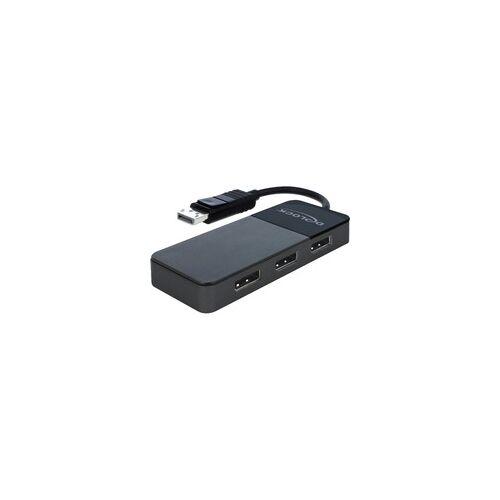 Delock DisplayPort Splitter 1.4 1x DisplayPort  3x DisplayPort