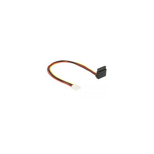 Delock Kabel Power Floppy 4Pin (Buchse)  SATA 15Pin (Buchse)