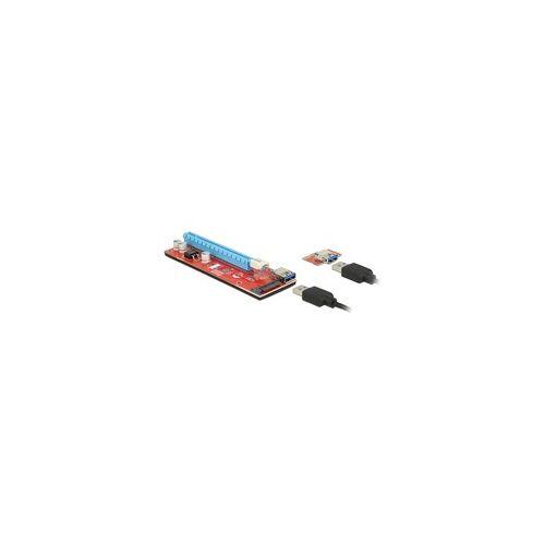 Delock Riser Card PCI x1  x16 USB Kabel