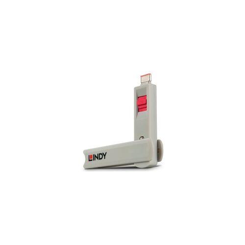 Lindy USB Typ C Port Schloss, Sicherheit