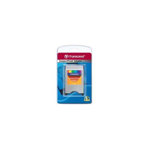 Transcend PCMCIA ATA Adapter für CF-Karten, Kartenleser