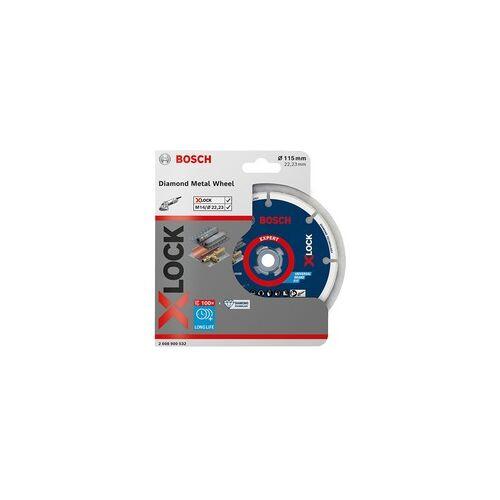 Bosch X-LOCK Diamant-Metallscheibe 115mm, Trennscheibe