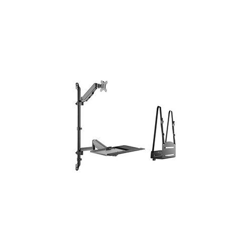 Digitus Flexibler Steh-/ Sitz-Arbeitsplatz, Monitorhalterung