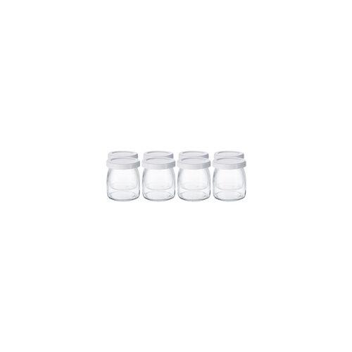 Steba Joghurtgläser, für Joghurt-Maker JM 3, Glas