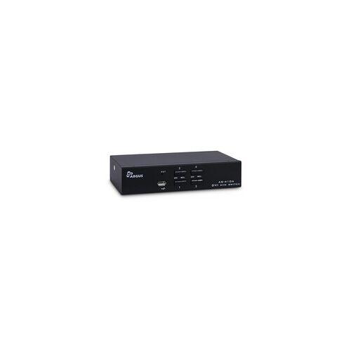 Inter-Tech KVM Switch AS-41DA DVI, KVM-Switch