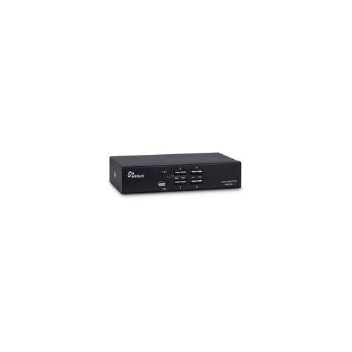 Inter-Tech KVM Switch AS-41UA VGA, KVM-Switch