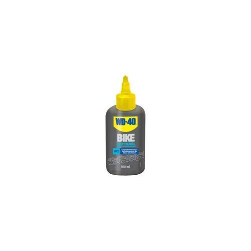 WD-40 BIKE Kettenöl, Feuchte Bedingungen, 100ml
