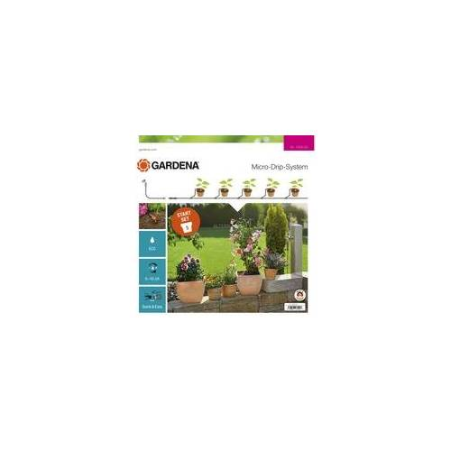 Gardena Micro-Drip-System Start-Set Pflanztöpfe S, Tropfsystem