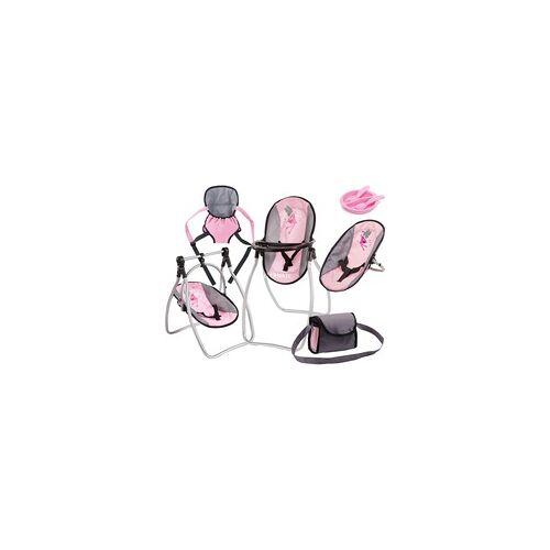 Bayer Design Zubehör-Set rosa/grau, Puppenzubehör