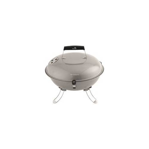 Easy Camp Holzkohlegrill Adventure Grill Silver