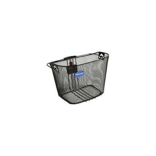 Fischer Fahrrad Lenker-Korb mit Schnellbefestigung, Fahrradkorb/-tasche