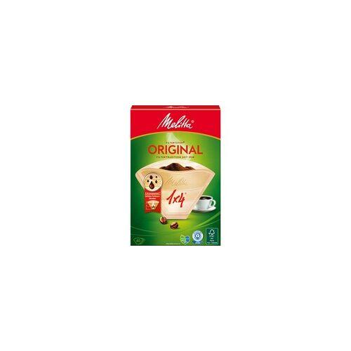 Melitta Filtertüten 1X4/40 Braun 40er, Kaffeefilter