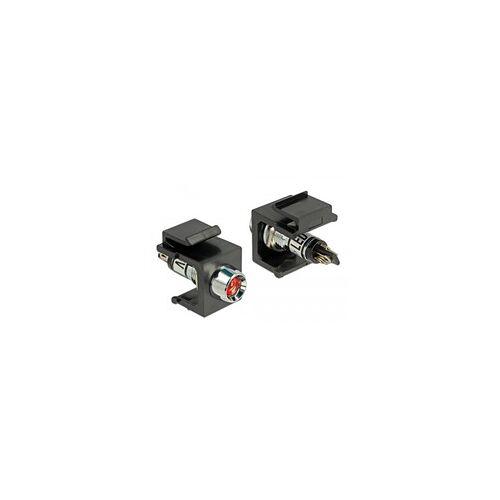 Delock Keystone LED rot 6 V, Keystone-Modul
