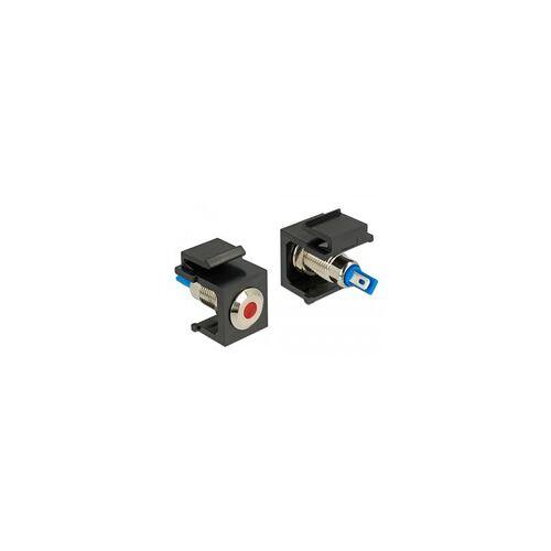 Delock Keystone LED rot 6 V flach, Keystone-Modul