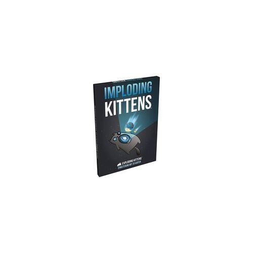 Asmodee Exploding Kittens - Imploding Kittens, Kartenspiel