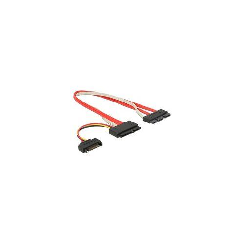 Delock Adapterkabel SATA Express, 18Pin + Power 15Pin  29Pin
