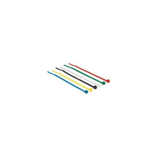 Delock Kabelbinder 100x2,5mm farbig 100x