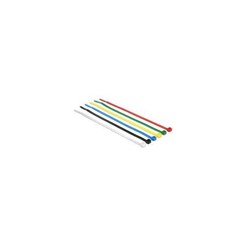 Delock Kabelbinder 200x3,6mm farbig