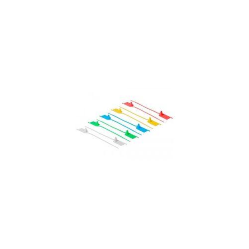 Delock Kabelbinder mit Beschriftungsfeld L 205 x B 2,8 mm